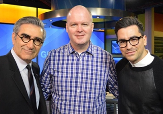 Eugene Levy and Dan Levy