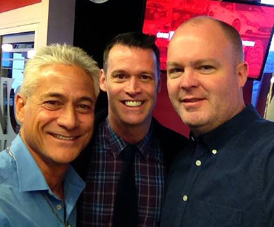 Greg Louganis and Mark Tewksbury