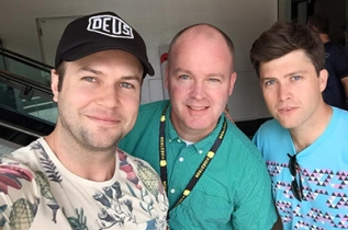 Taran Killam and Colin Jost