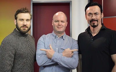 Clive Standen and Kevin Durand