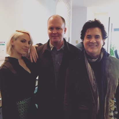 Marie-Mai & Scott Borchetta